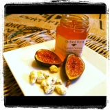Roasted Figs with Blue Cheese and Honey